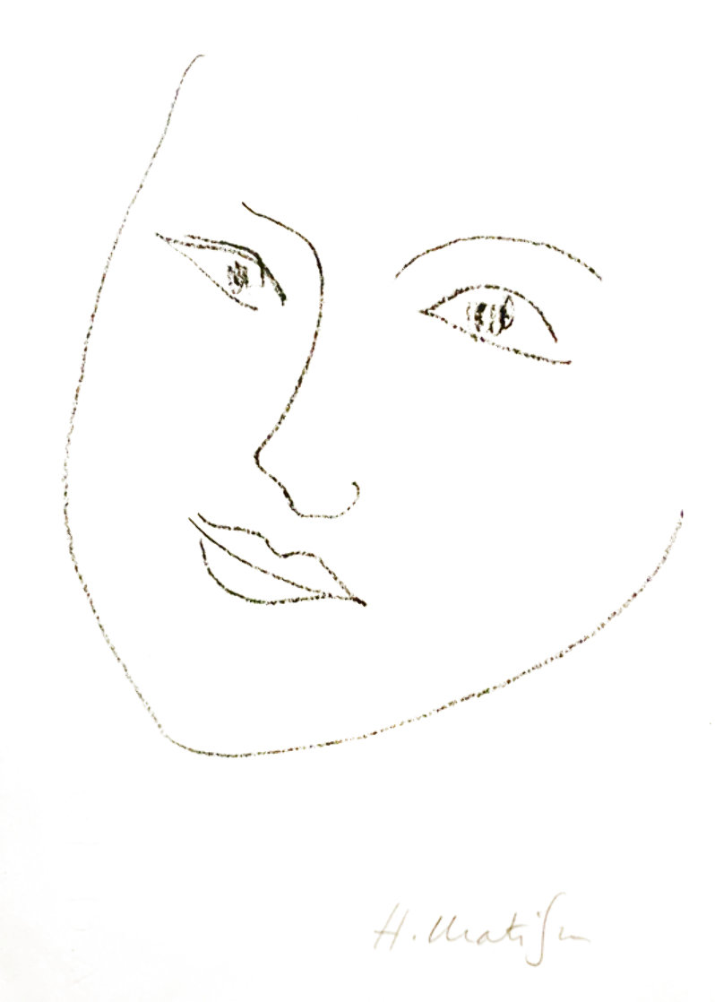 Le Signe De Vie Book with Lithograph 1946 Other by Henri Matisse