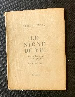 Le Signe De Vie Book with Lithograph 1946 Other by Henri Matisse - 9
