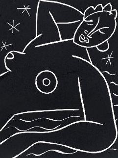 La Fregate Linocut  1938 HS Limited Edition Print - Henri Matisse