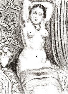 Torse à L'aiguière / Torso With the Ewer 1927 HS Limited Edition Print - Henri Matisse