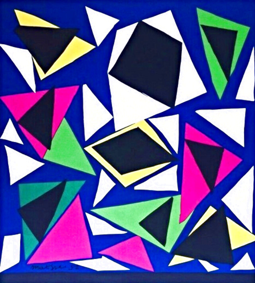 Atelier Mourlot Cut Outs 1984 Limited Edition Print by Henri Matisse