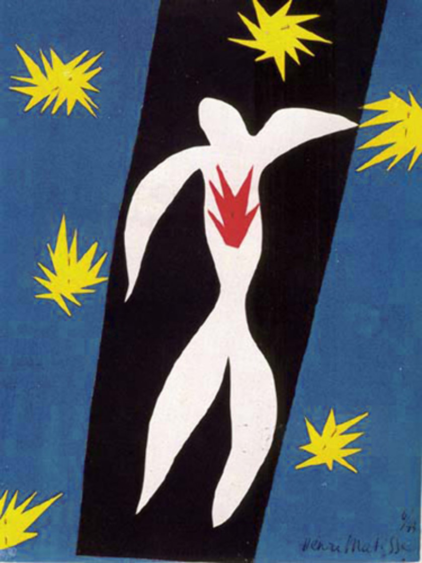Fall of Icarus 1945 Limited Edition Print by Henri Matisse