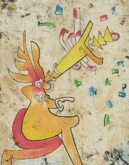 Incisioni (5) 1975 Limited Edition Print by Roberto Sebastian Matta