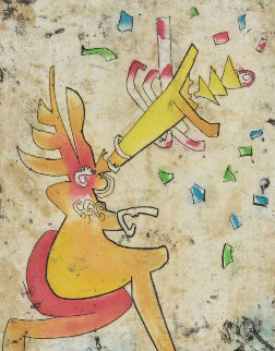 Incisioni (5) 1975 Limited Edition Print - Roberto Sebastian Matta