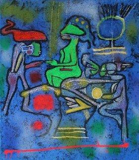 La Source De Calm 2002 Limited Edition Print by Roberto Sebastian Matta