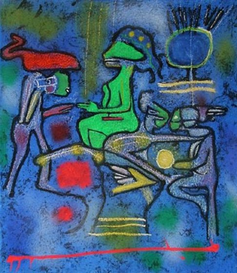 La Source De Calm 2002 Limited Edition Print by Roberto Sebastian Matta