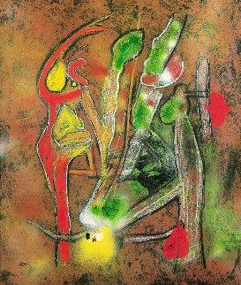 Albero Giovanne  2002 Limited Edition Print by Roberto Sebastian Matta
