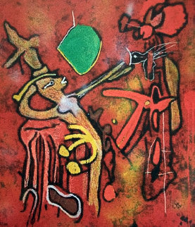 Eld of the World 2002 47x40 Limited Edition Print - Roberto Sebastian Matta