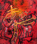 Melodia-Melodio 1986 Limited Edition Print - Roberto Sebastian Matta