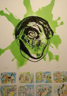 Hommage to Federico Garcia Lorca 1999 Limited Edition Print by Roberto Sebastian Matta