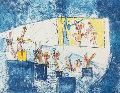 Le Cinema (From Scenes Famileres) 1962 Limited Edition Print - Roberto Sebastian Matta