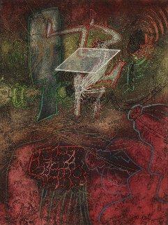 Damne Par L'arcen Ciel 1985 Limited Edition Print - Roberto Sebastian Matta