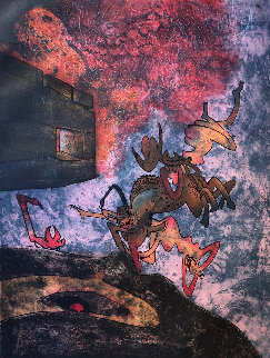 Hom'mere Chaosmos Ancien Victorieux Je Te Morphose 1975 Limited Edition Print - Roberto Sebastian Matta