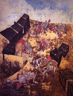 Hom'mere Chaosmos - Plate 7 1975 Limited Edition Print - Roberto Sebastian Matta