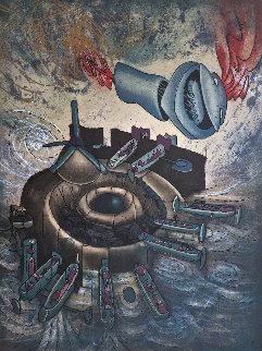 Hom\'mere Chaosmos - Chaosmos 1975 Limited Edition Print - Roberto Sebastian Matta
