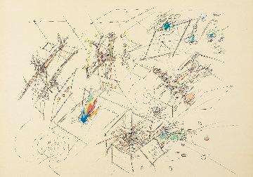 Portfolio of 5 Lithographs  - Plate 1 1977 Limited Edition Print - Roberto Sebastian Matta