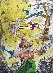 Centre Noeds - Plate II 1974 Limited Edition Print - Roberto Sebastian Matta