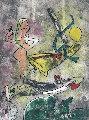 Centre Noeds - Plate III 1974 Limited Edition Print - Roberto Sebastian Matta