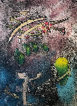 Centre Noeds - Plate V 1974 Limited Edition Print - Roberto Sebastian Matta