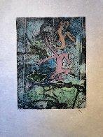 Centre Noeds - Plate X 1974 Limited Edition Print by Roberto Sebastian Matta - 1