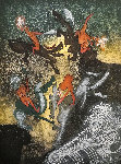 Hom'mere Chaosmos - Au Sang Du Song 1974 Limited Edition Print - Roberto Sebastian Matta