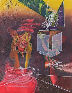 Nous Ne Sommes Pas Au Monde (Une Saison En Enfer) 1977 Limited Edition Print by Roberto Sebastian Matta