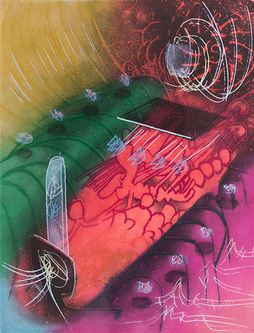 Attire Le Gai Venin (Une Saison En Enfer) 1977 Limited Edition Print by Roberto Sebastian Matta