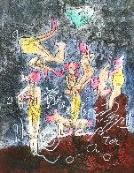 Tarot of Theleme's Soul 1994 Limited Edition Print by Roberto Sebastian Matta - 0