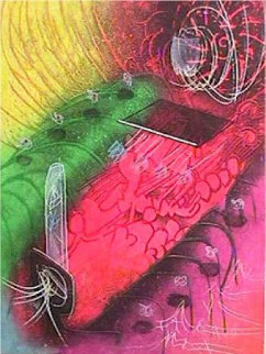 Attire Le Gai Venin From Une Saison En Enfer 1977 Limited Edition Print - Roberto Sebastian Matta