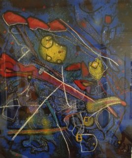 Redness of Blue 1996 Limited Edition Print by Roberto Sebastian Matta