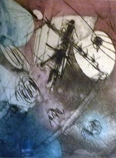 Untitled Lithograph Limited Edition Print - Roberto Sebastian Matta