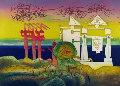 Hours of the Day, 8 P.M. 1975 Limited Edition Print - Roberto Sebastian Matta