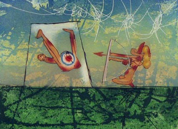 Transports Series, Archer 1976 Limited Edition Print by Roberto Sebastian Matta
