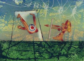 Transports Series, Archer 1976 Limited Edition Print - Roberto Sebastian Matta