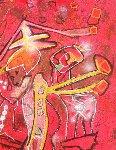 Melodia-Melodio 1996 Limited Edition Print - Roberto Sebastian Matta