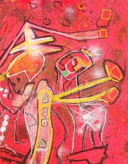 Melodia-Melodio 1996 Limited Edition Print by Roberto Sebastian Matta