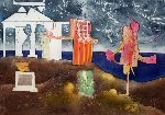 12 Pm From l'arc Obscur Des Heures 1975 Limited Edition Print - Roberto Sebastian Matta