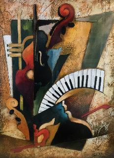 Orchestration XIII Limited Edition Print - Emanuel Mattini