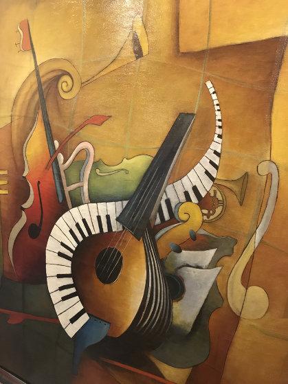 Orchestration 2007 51x79 Original Painting by Emanuel Mattini