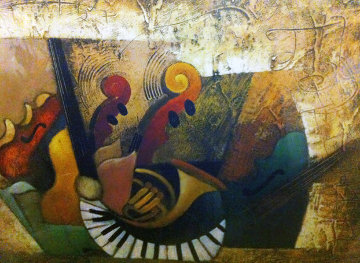 Orchestration XI 36x24 Limited Edition Print - Emanuel Mattini