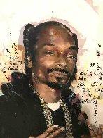 Snoop Dog 35x27 Original Painting by Sid Maurer - 2