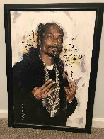 Snoop Dog 35x27 Original Painting by Sid Maurer - 1