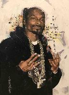 Snoop Dog 35x27 Original Painting by Sid Maurer - 0