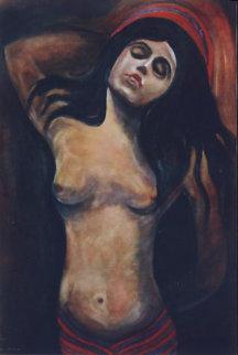 Madonna 2003 43x24 Huge Original Painting - Mauro Garcia