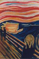 Guatemalan Scream (Munch) The Scream 2004 Original Painting by Mauro Garcia - 0