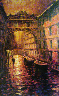Gold of Venice Embellished 2005 Limited Edition Print by Marko Mavrovich
