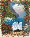 A Taste of the Riviera 2009 32x28 Original Painting - Marko Mavrovich