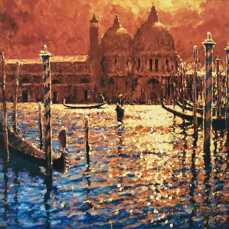 Golden Afternoon 2005 Embellished Limited Edition Print by Marko Mavrovich