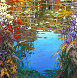 Giverny Spring 2015 Embellished Limited Edition Print by Marko Mavrovich - 0