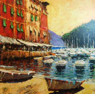 Day in Portofino 2006 Limited Edition Print by Marko Mavrovich